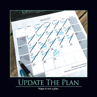 Update The Plan